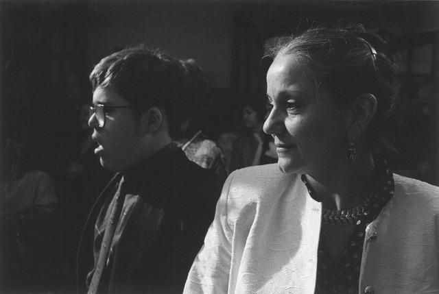 Rodrigo en Lélia tijdens een familietreffen in Brazilië (1993). Foto: Sebastião Salgado/Amazones Images