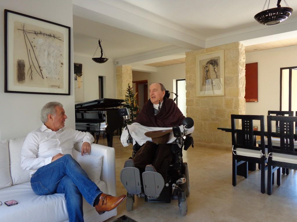 Philippe Pozzo di Borgo is een kunstliefhebber. Foto: Annemarie Haverkamp