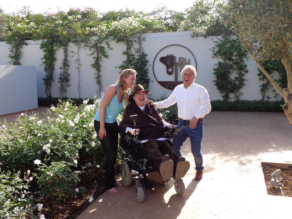 Annemarie Haverkamp, Philippe Pozzo di Borgo en Huub Stapel. Foto: Annemarie Haverkamp