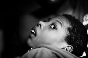 Kayetesi is 16. Foto: Mona van den Berg